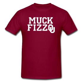 Maroon Muck Fizzou shirt