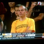 Kansas City sports radio personality Dave Borchardt watches Mizzou lose to Arizona St.