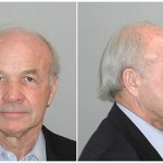 Mug shot of disgraced Enron chairman Ken Lay