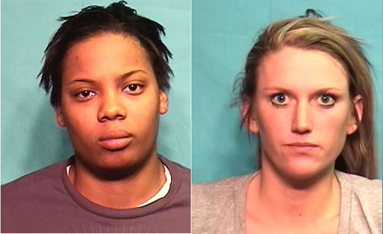Two female Mizzou basketball players assaulted a male cheerleader.