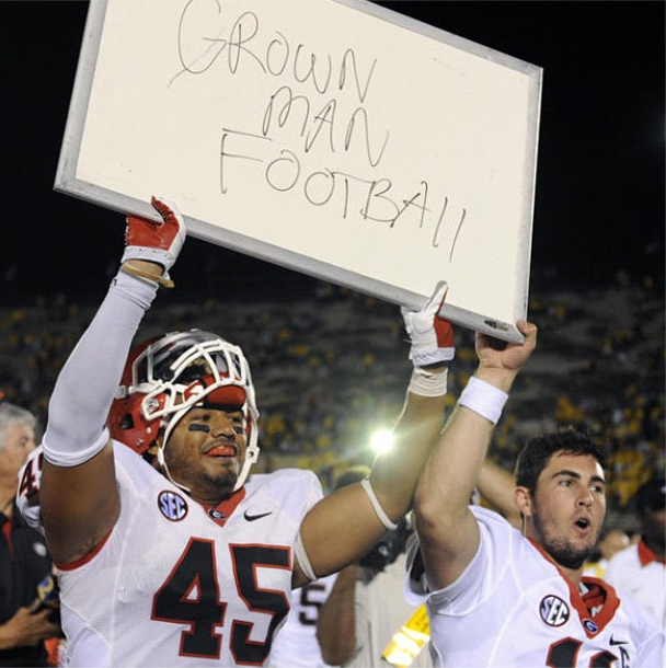 Who would've thought a stupid statement by a Mizzou player would come back to bite them in the ass?