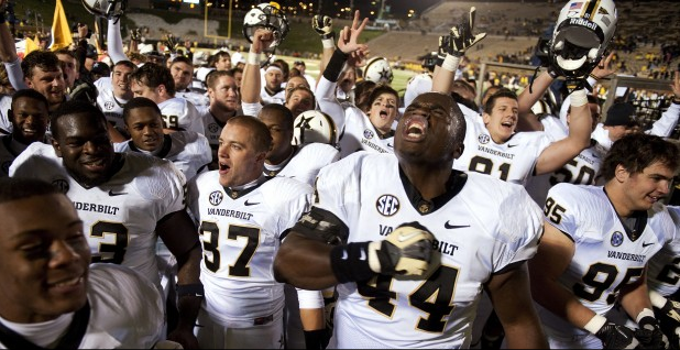 Vanderbilt embarrasses Mizzou