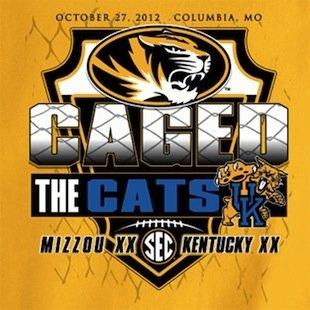A shirt that celebrates Mizzou's win over 1-8 Kentucky
